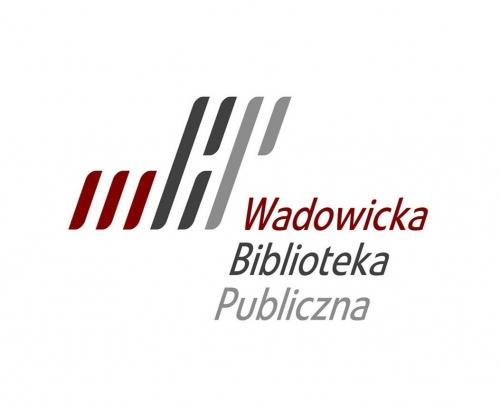 Znalezione obrazy dla zapytania WADowicka biblioteka logo